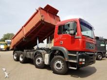 camión MAN 32.410-8x4-Dautel-Blatt / Blatt-Schaltgetriebe