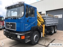 camión MAN 26.372 6x4 - Full Steel - 10.5 T/M Crane - Mech