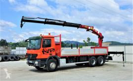 camión Mercedes Actros 2632 Pritsche 6,75 m + KRAN / 6x4!