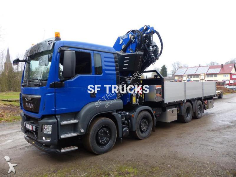 camion plateau standard neuf man tgs gazoil grue annonce n 2097644. Black Bedroom Furniture Sets. Home Design Ideas