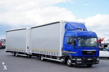ciężarówka firanka MAN
