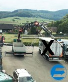 camion Scania R124 GB 8x4 Brücke mit LADEKRAN