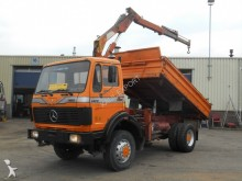 camion Mercedes 1922 Kipper 4x4 with Crane V6 Top Condition