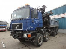 camión MAN 35.403VFK 8x6 FULL STEEL KIPPER WITH 30T CRANE (