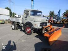 camión Mercedes LA 312H/36 1113 4x4 Pritsche Schneeschild
