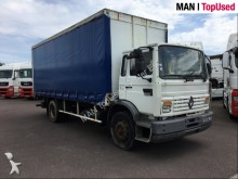 camion Renault Midliner M230 baché+hayon Dhollandia 2T repliable