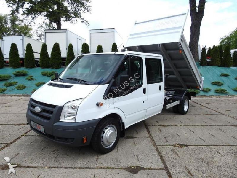 camion ford benne transit doka 6 miejsc gazoil occasion n 2107625. Black Bedroom Furniture Sets. Home Design Ideas