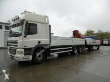 camion DAF CF 85.480 Kran 2220 12,9m/1350kg Funk Liftachse