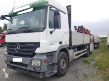 camion Mercedes 2641-6x2-BauStoff-m. Palfinger PK18500-manuelle Handschaltung