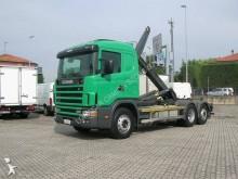 camion polybenne Scania
