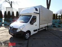 ciężarówka Renault MASTERSKRZYNIA PLANDEKA 10 PALET WEBASTO KLIMA TEMPOMAT PNEUMAT