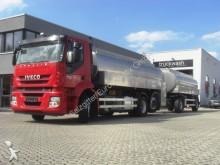 camión Iveco Stralis 360 / Milchtankwagen/Lenkachse/Retar