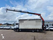 camión MAN TGA 26.350 KRAN Palfinger PK 16502 12,4m KLIMA -
