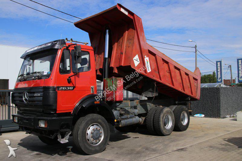 camion mercedes benne ak 6x6 gazoil euro 2 occasion n 2114852. Black Bedroom Furniture Sets. Home Design Ideas