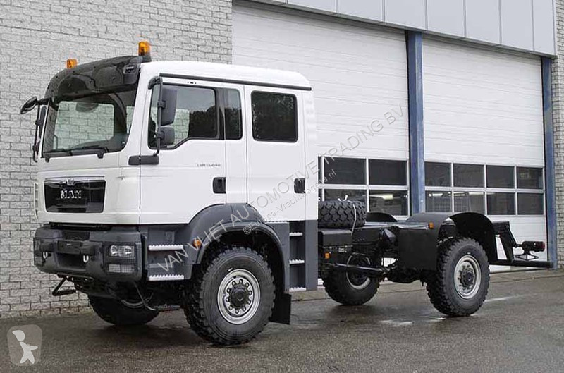 new man tgm chassis truck 4x4 diesel euro 3 n 2122826. Black Bedroom Furniture Sets. Home Design Ideas