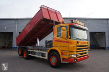 camión Scania 124-360 Manual Kipper Full Steel 1998