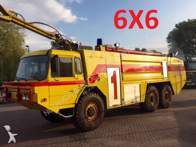 camion nc pompiers crashtender arff 6x6 gazoil occasion n 2125834. Black Bedroom Furniture Sets. Home Design Ideas
