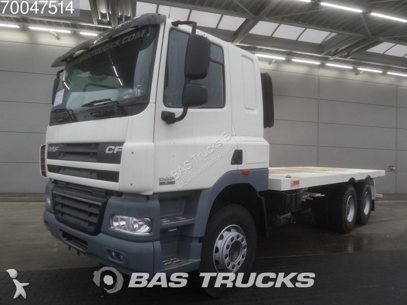 camion daf plateau cf85 6x4 gazoil euro 3 neuf n 2126067. Black Bedroom Furniture Sets. Home Design Ideas