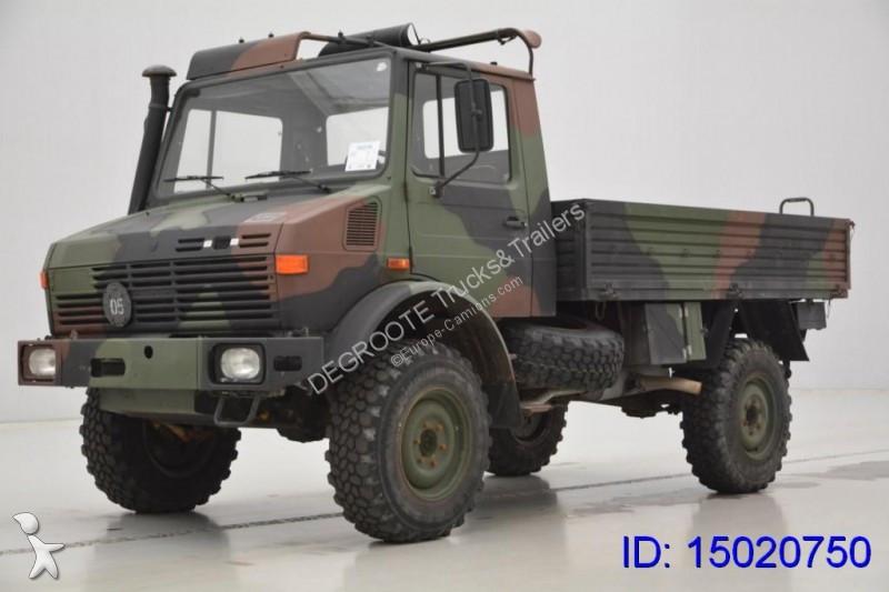 camion unimog plateau u1300 4x4 gazoil occasion n 2126426. Black Bedroom Furniture Sets. Home Design Ideas