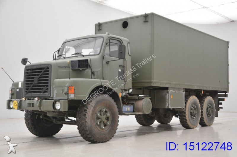 camion militaire occasion volvo n10 gazoil annonce n 2126556. Black Bedroom Furniture Sets. Home Design Ideas