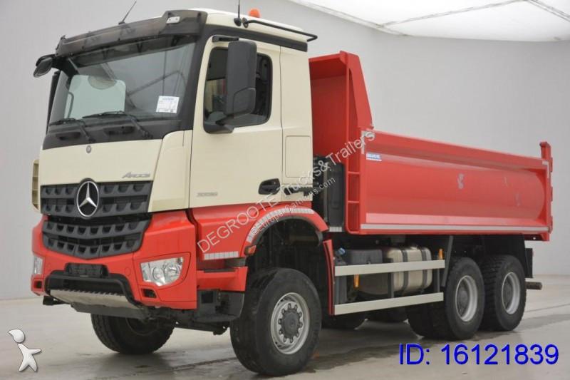 used mercedes arocs tipper truck 6x6 diesel euro 6 n 2126622. Black Bedroom Furniture Sets. Home Design Ideas