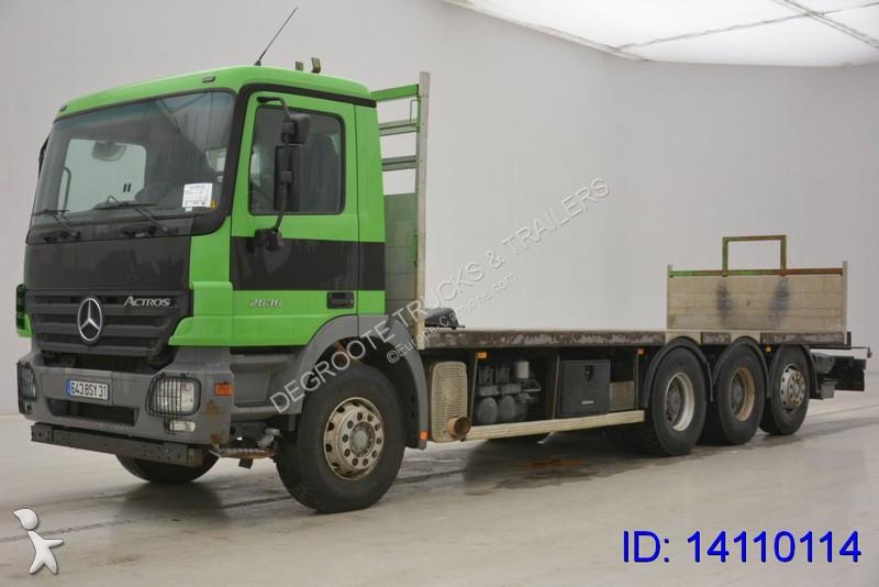 camion mercedes plateau actros 3236 8x4 gazoil euro 3 occasion n 2126669. Black Bedroom Furniture Sets. Home Design Ideas