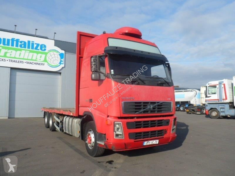 camion volvo plateau fh 500 6x2 gazoil euro 3 occasion n 2128281. Black Bedroom Furniture Sets. Home Design Ideas