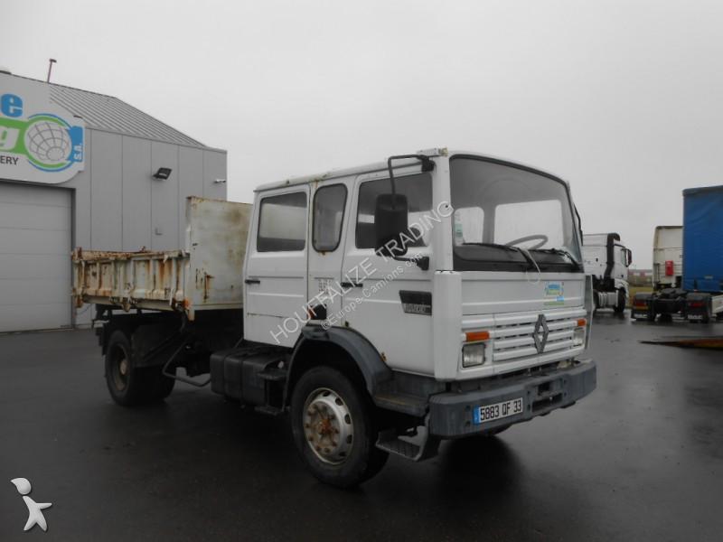 camion benne occasion renault 200 gazoil grue annonce n. Black Bedroom Furniture Sets. Home Design Ideas
