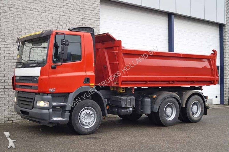 used daf cf85 tipper truck 6x4 diesel euro 3 n 2128414. Black Bedroom Furniture Sets. Home Design Ideas