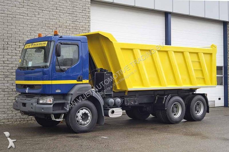 new renault kerax tipper truck 370 6x4 diesel euro 3 n 2128494. Black Bedroom Furniture Sets. Home Design Ideas