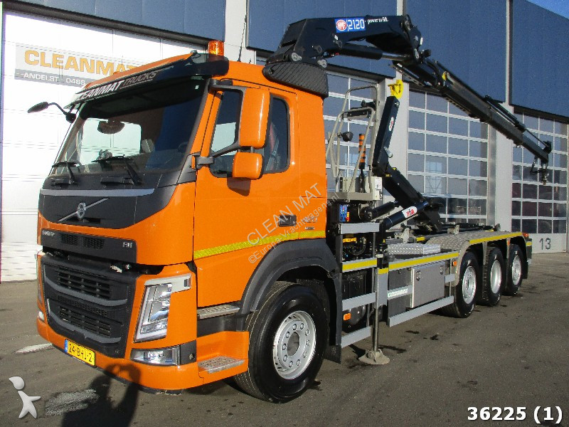 autres camions volvo fm 420 8x2 gazoil euro 6 grue occasion n 2128865. Black Bedroom Furniture Sets. Home Design Ideas
