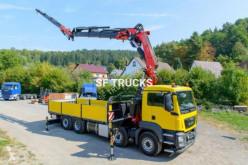 camion MAN grue fassi 80tm jib treuil