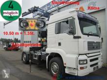 camion MAN TGA 18.310 Tirre171Kran+FB+Schaltgetriebe Klima