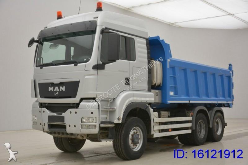 camion man benne tgs 6x6 gazoil euro 5 occasion n 2159164. Black Bedroom Furniture Sets. Home Design Ideas