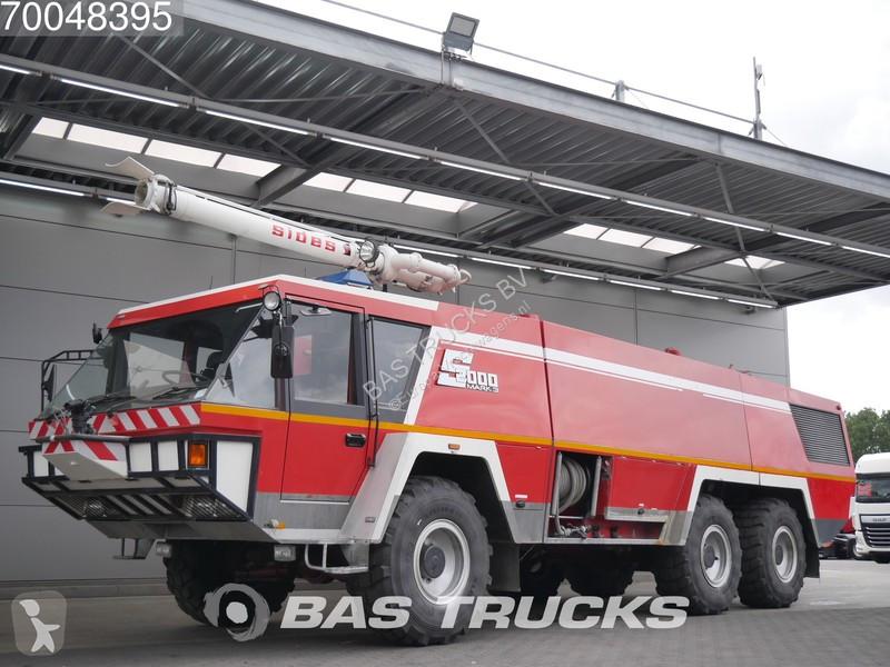 Camion Mercedes Crashtender Sides Airport fire truck