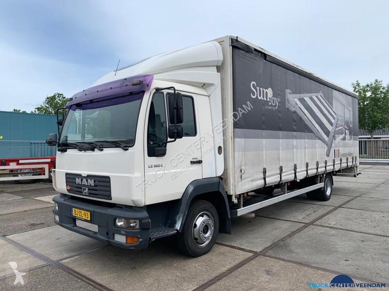 Camión MAN L20 9L Schuifzeil laadbak