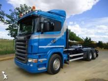 Camión portacontenedores Scania R124 420
