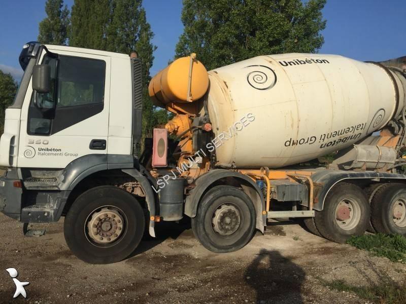 Camion b ton toupie malaxeur occasion iveco nc annonce - Camion toupie beton ...
