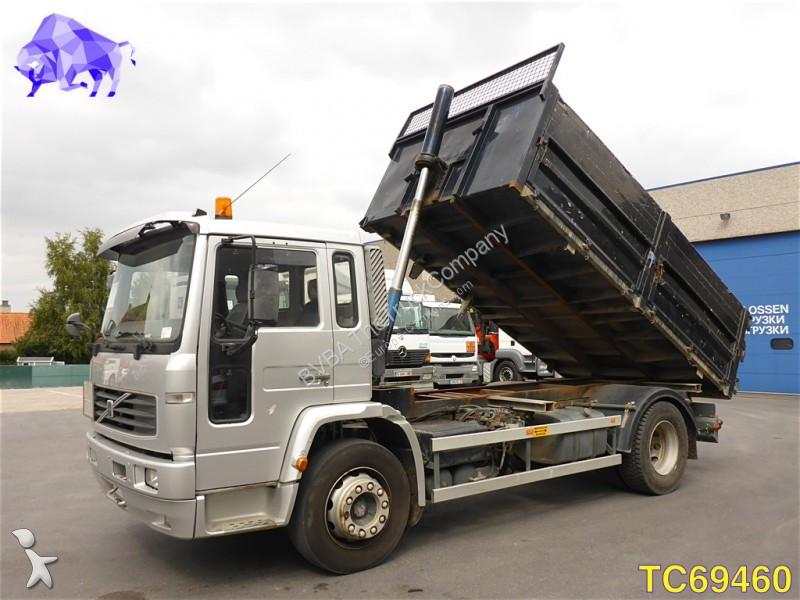 camion volvo benne fl6 4x2 euro 2 occasion n 2186605. Black Bedroom Furniture Sets. Home Design Ideas