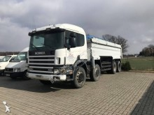 Scania construction dump truck