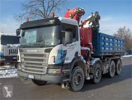 Scania P420 CON GRU FASSI truck
