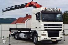 DAF XF 95.430 * Pritsche 6,50 m + KRAN Top Zustand! truck