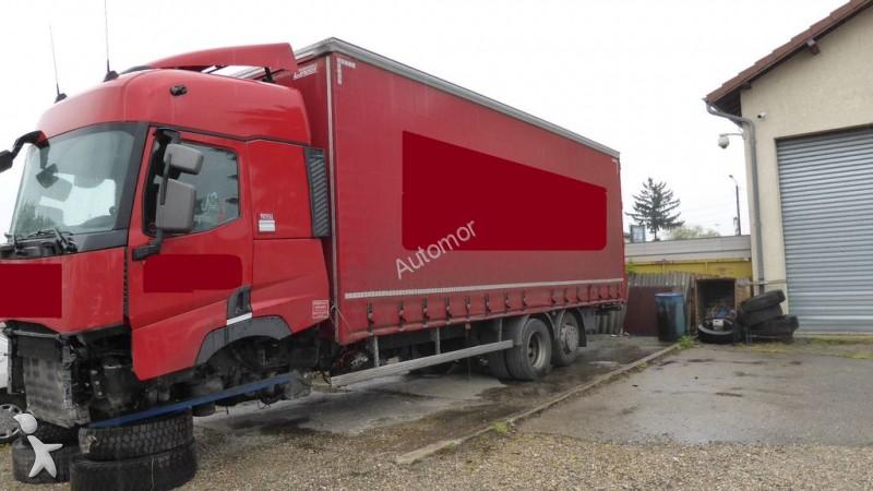 camion renault rideaux coulissants plsc gamme t 460 6x2 euro 6 occasion n 2204607. Black Bedroom Furniture Sets. Home Design Ideas