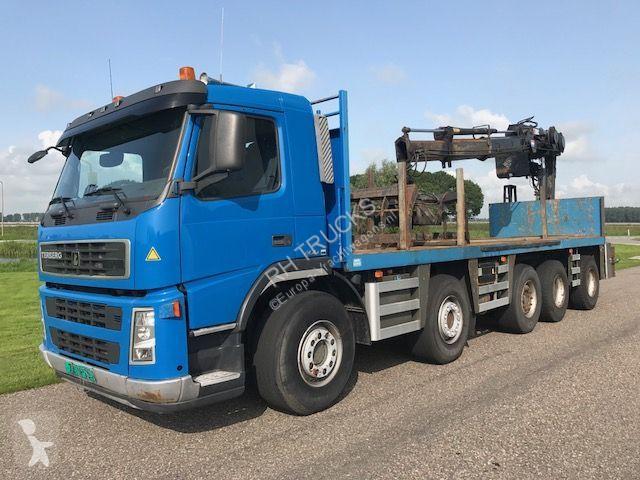 Terberg FM 400 10x4 Rijdbaar vanaf de kraan Hiab 200L truck
