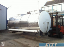 camión Van Hool 13.000 L RVS ISO tank, 2 comp
