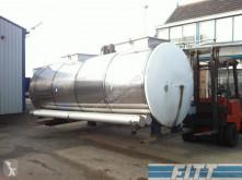 camion Van Hool 13.000 L RVS ISO tank, 2 comp