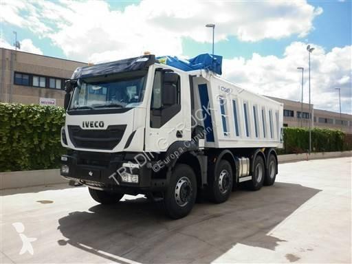 camion iveco benne trakker 410 t 50 euro 6 neuf n 2227610. Black Bedroom Furniture Sets. Home Design Ideas