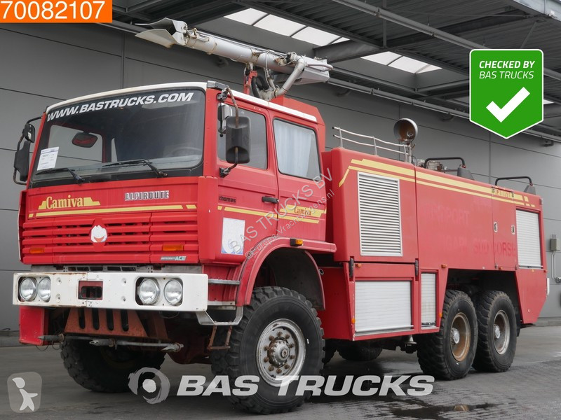 camion thomas pompiers camiva alpiroute airport fire truck 6x6 occasion n 2238869. Black Bedroom Furniture Sets. Home Design Ideas