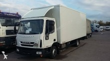 camión Iveco furgón Eurocargo ML 75 E 19 P 4x2 Diesel Euro 6 rampa elevadora trasera usado - n°2245261 - Foto 1
