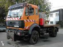 Mercedes flatbed truck